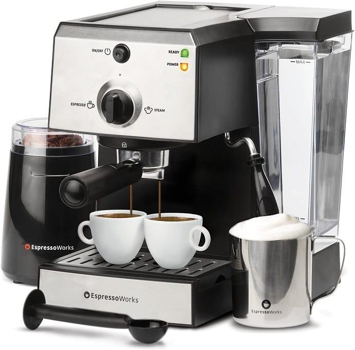 מכונת האספרסו והקפוצ'ינו EspressoWorks All-In-One