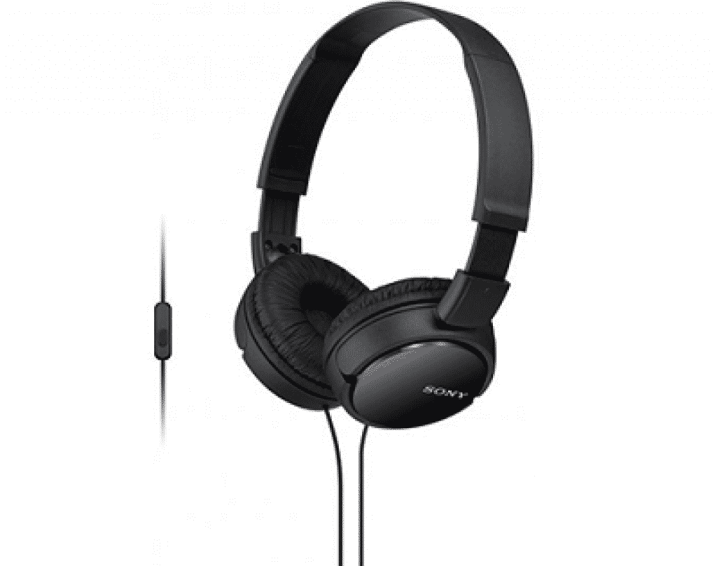 אוזניות אלחוטיות עם בס מעולה Sony MDRZX110APB