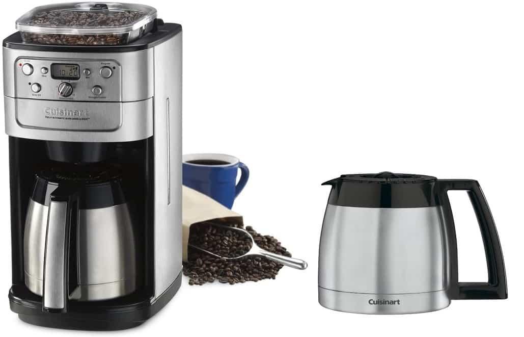 מכונת קפה 12 כוסות Cuisinart DGB-700 BC