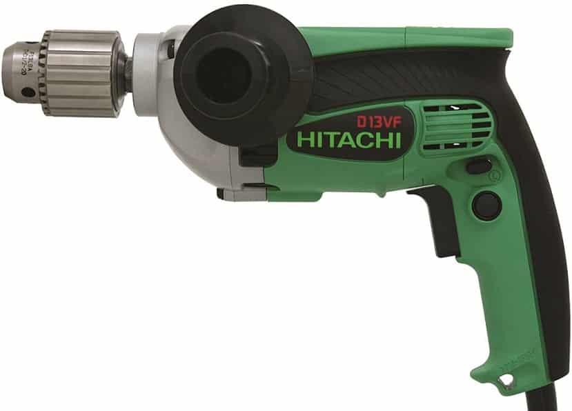 מקדחה חשמלית זולה דגם D13VF של חברת Hitachi