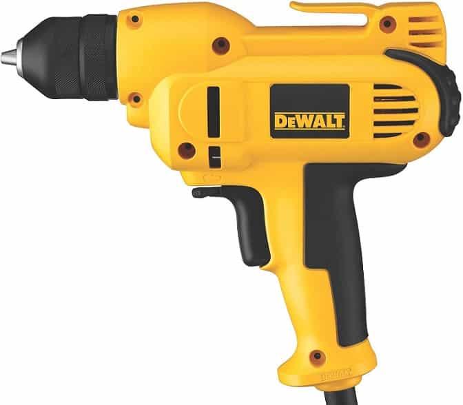מקדחה חשמלית 8 אמפר DEWALT DWD115K