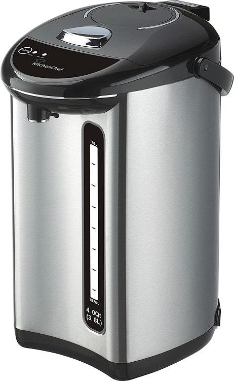 קומקום שבת 3.8 ליטר מפלדת אל חלד של חברת CookMaster