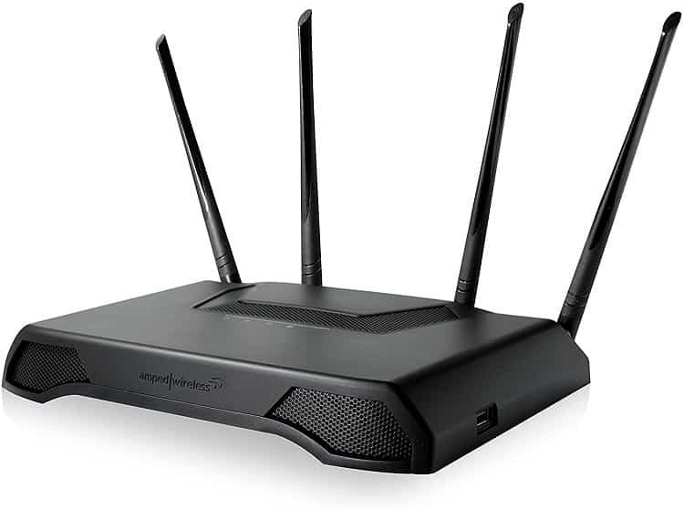ראוטר מקצועי למשתמשים רציניים Amped Wireless RTA2600