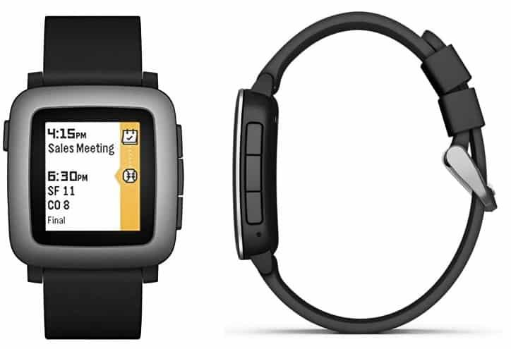 שעון חכם Pebble Time של חברת Brightpoint