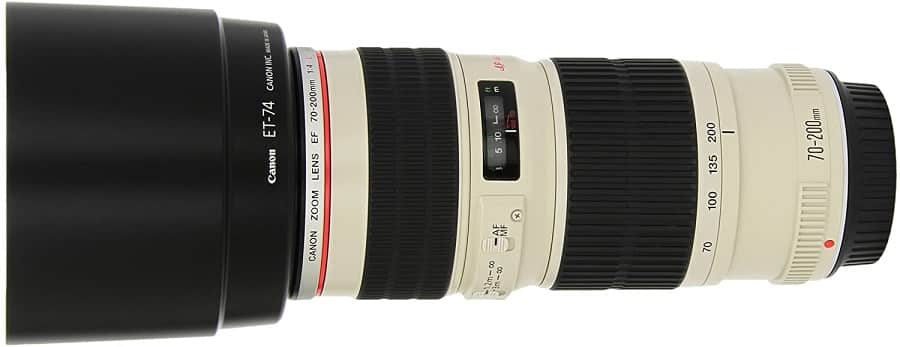 עדשת טלפוטו של חברת קנון דגם EF 70-200mm f-4L