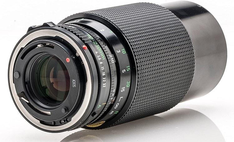 עדשת FD של קאנון דגם FD 70-210mm f-4.0