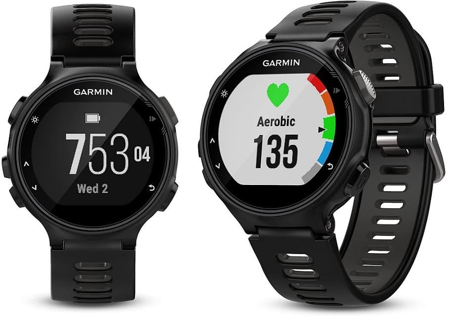 שעון גרמין 735XT פוראנר עם GPS מובנה
