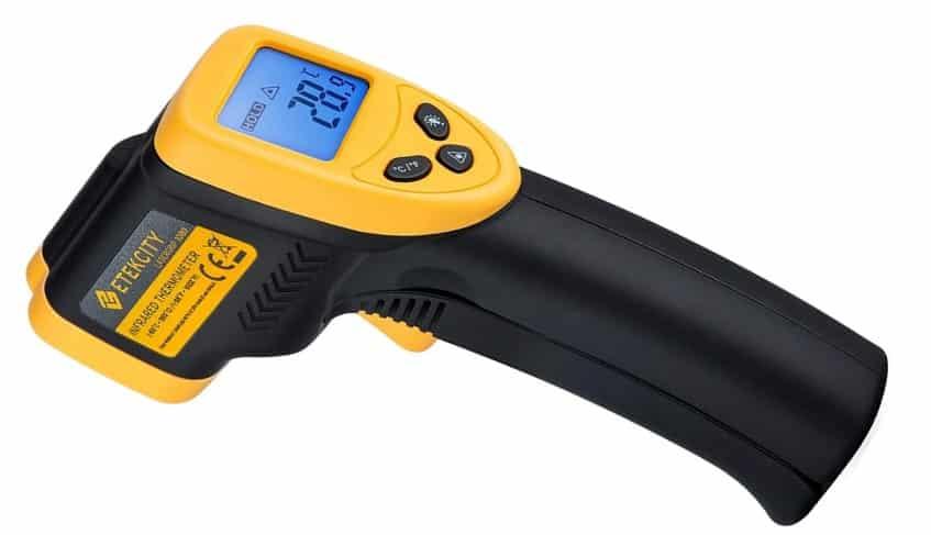 אקדח לייזר למדידת טמפרטורה ללא מגע EtekcityLasergrip 1080