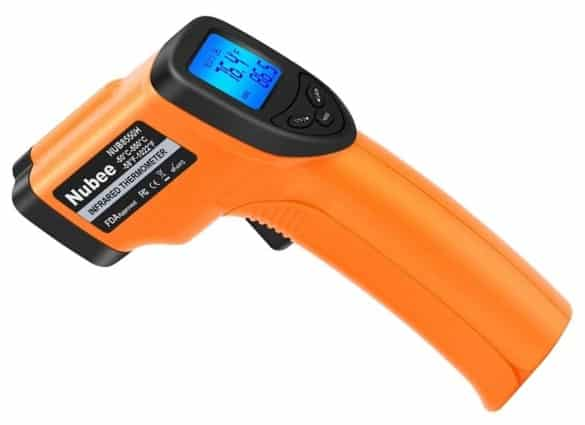 אקדח מדידת טמפרטורה דגם 8380H של חברת Nubee