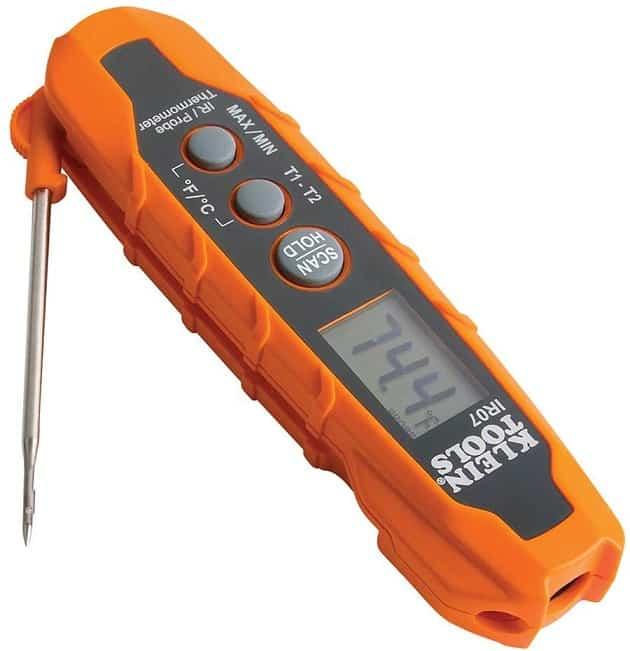מד חום ללא מגע קומפקטי Klein Tools IR07