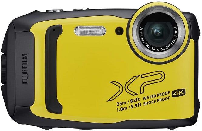 מצלמה נגד מים FinePix XP140 של חברת Fujifilm