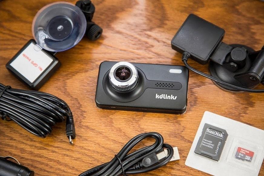 מצלמה ניידת לרכב KD Links X1