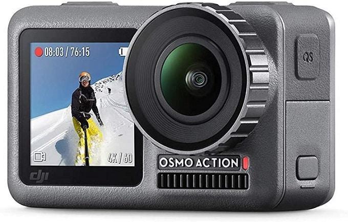 מצלמה עמידה למים קומפקטית DJI OSMO Action