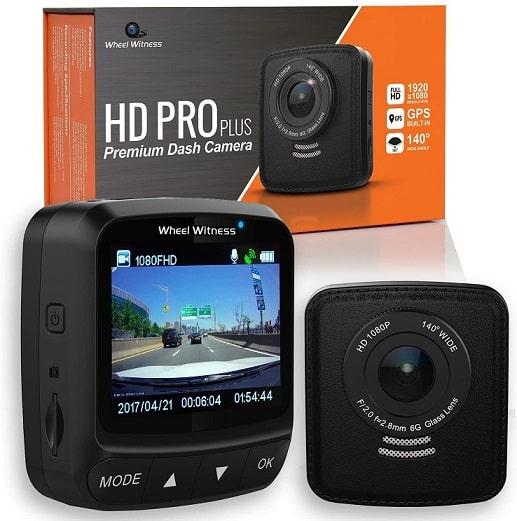 מצלמת דרך מקצועית של חברת Wheel Witness דגם HD Pro