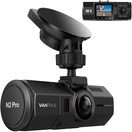 מצלמת דשבורד ללילה של חברת Vantrue דגם N2 Pro