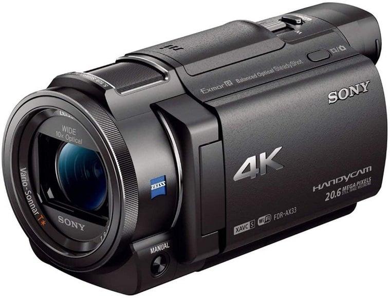 מצלמת וידאו סוני FDR AX33