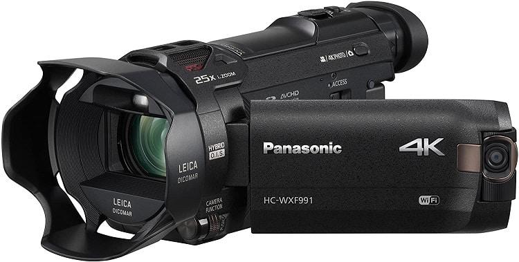 מצלמת וידאו פנסוניק 4K HC-WXF991K