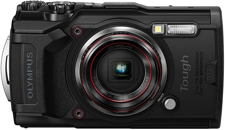 מצלמת מים Tough TG-6 של חברת Olympus