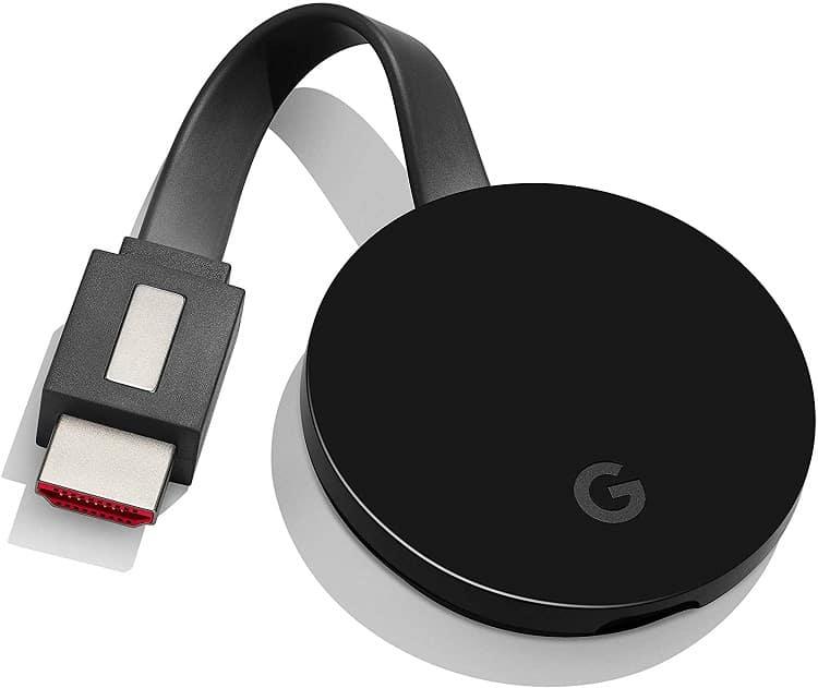 סטרימר Chromecast Ultra של חברת גוגל