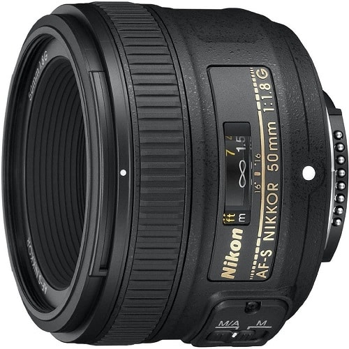 עדשה למצלמה של חברת Nikon דגם AF-S FX NIKKOR 50mm
