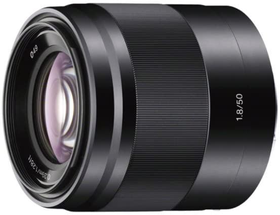 עדשה למצלמה של Sony דגם E 50mm F1.8 OSS