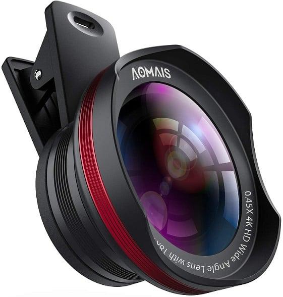 עדשה למצלמת סמארטפון של חברת AOMAIS