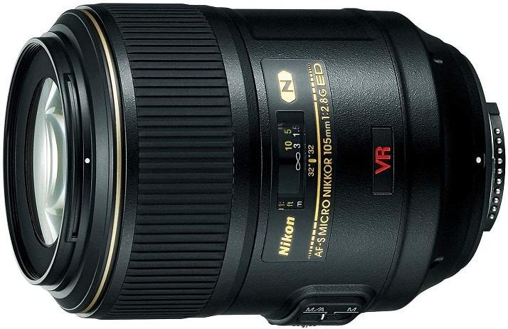 עדשת מאקרו למצלמה Nikon AF-S VR Micro-NIKKOR 105mm