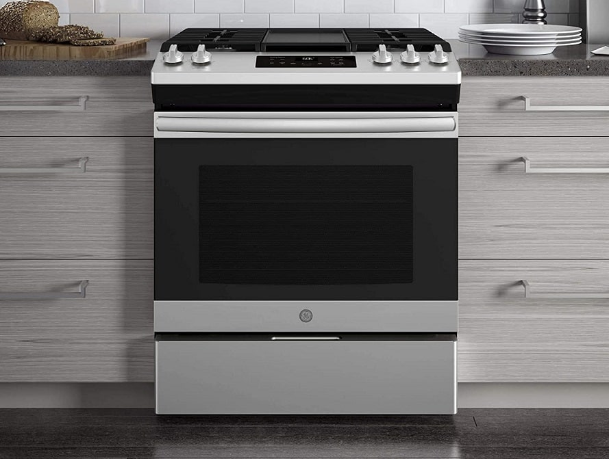 תנור משולב כיריים כז GE Appliances JGSS66SELSS