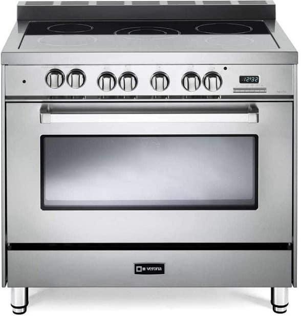 תנור עם כיריים חשמליות דגם VEFSEE365SS של חברת Verona