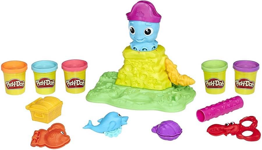 בצק יצירה פליידו Cranky the Octopus