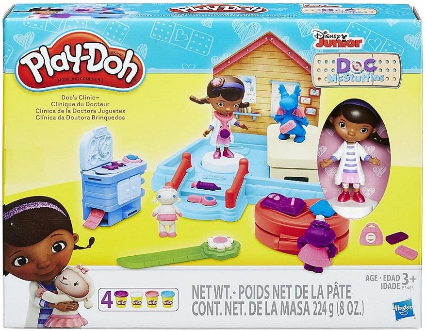 בצק יצירה Play Doh של Doc McStuffins