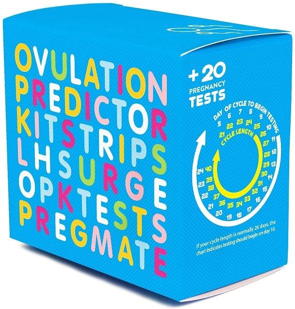 מאז 100 בדיקות הריון וביוץ של מותג PREGMATE
