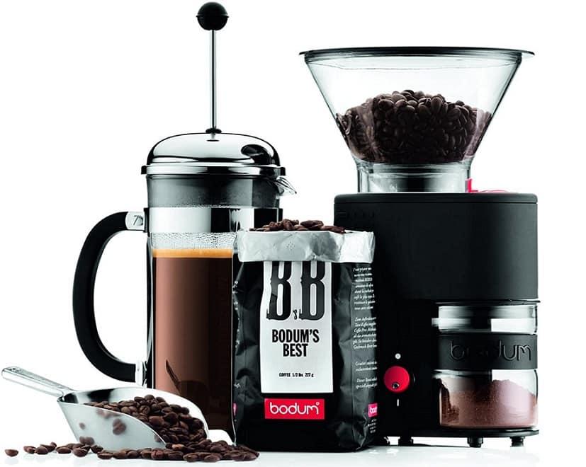 מטחנת קפה עם דסקיות Bodum Bistro