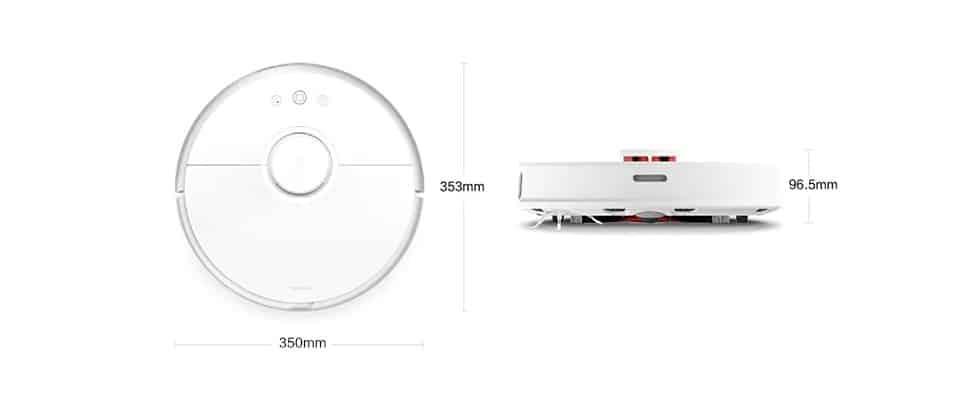 מידות וגודל של רובורוק S50
