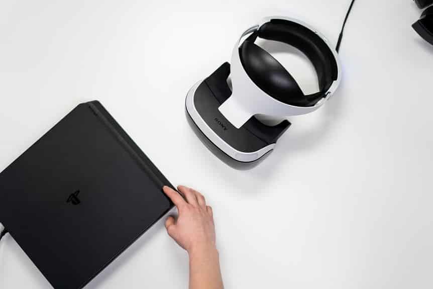 משקפיי מציאות מדומה של PlayStation VR
