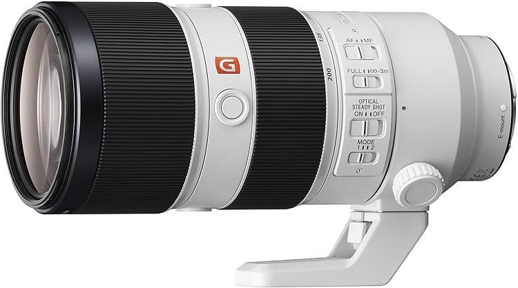 עדשת זום של חברת סוני Sony FE 70-200mm f2.8 GM