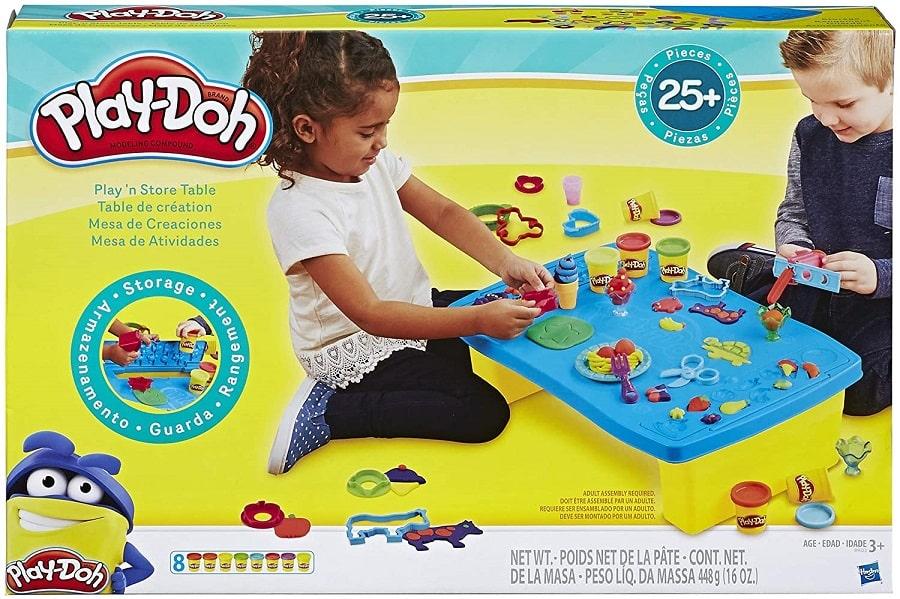 ערכת פליידו Play 'n Store Table