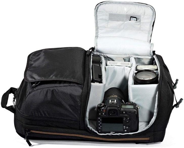 תיק מצלמה של חברת LowePro דגם BP 250 AW 2