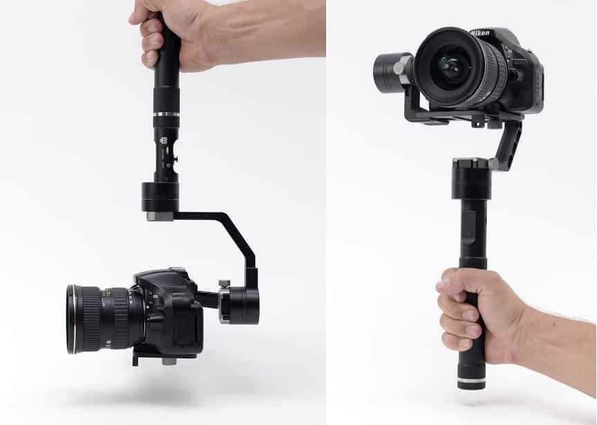 גימבל מקצועי למצלמה עם מערכת גגירו של חברת Glide Gear