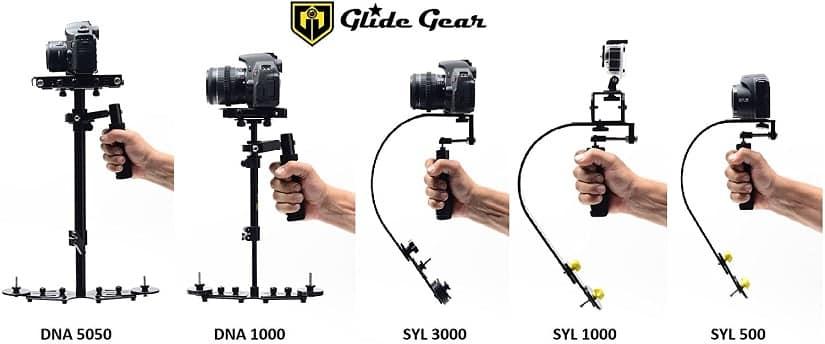 מייצב מצלמה מקצועי דגם DNA 1000 של חברת Glide Gear