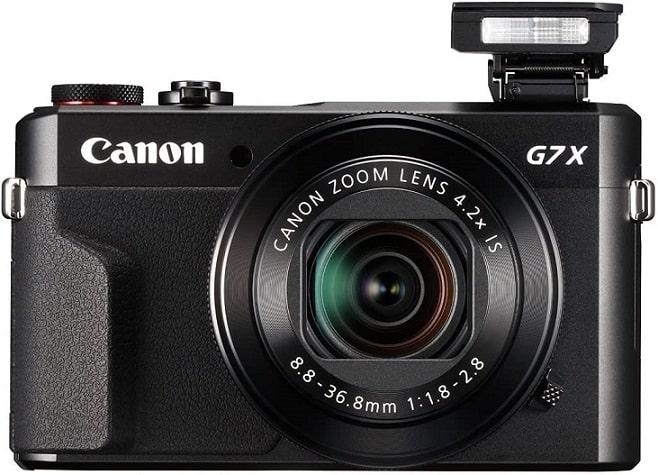 מצלמה לטיוליםCanon PowerShot G7 X Mark II