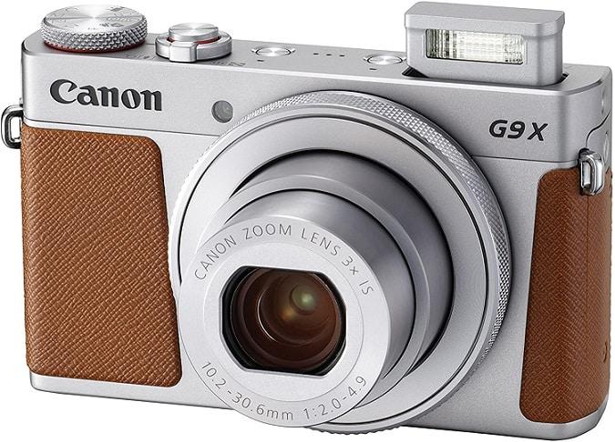 מצלמה לטיוליםCanon PowerShot G9 X Mark II