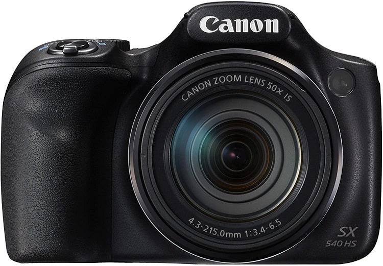 מצלמה לטיוליםCanon PowerShot SX540