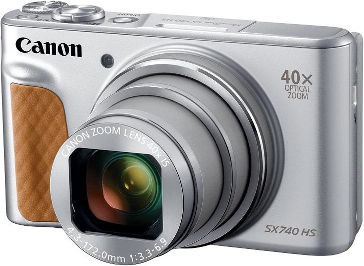 מצלמה לטיוליםCanon PowerShot SX740