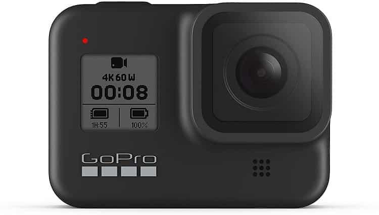 מצלמה לטיולים GoPro HERO8 Black