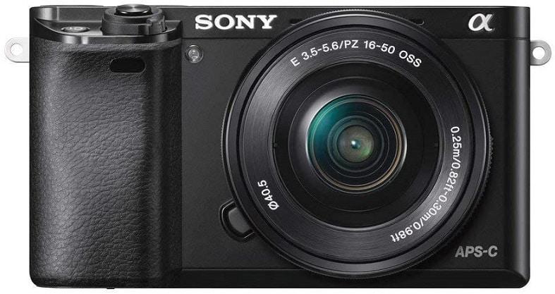 מצלמה לטיולים Sony Alpha a6000