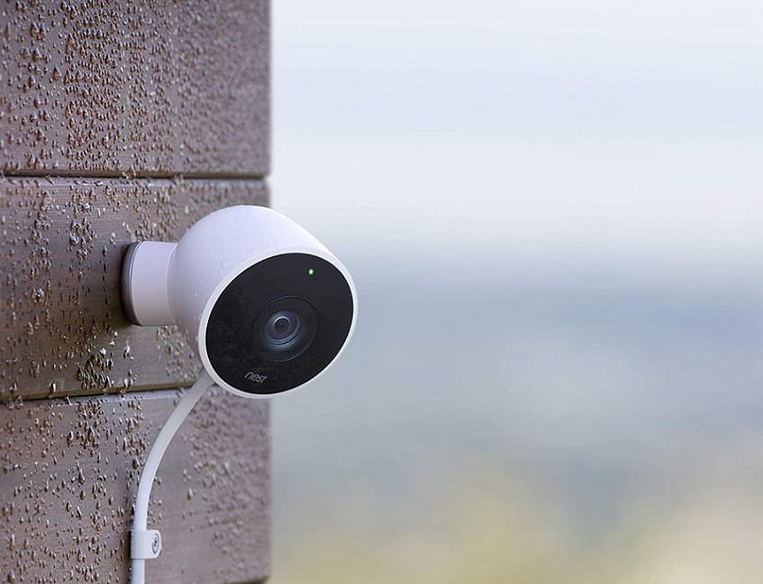 מצלמת אבטחה לבית החכם של גוגל Nest Cam