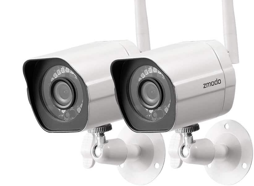 מצלמת אבטחה לעסק של חברת Zmodo