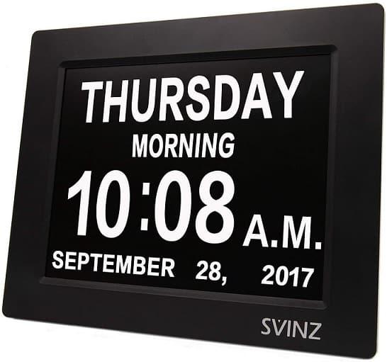 שעון מעורר לכבדי ראייה של חברת SVINZ