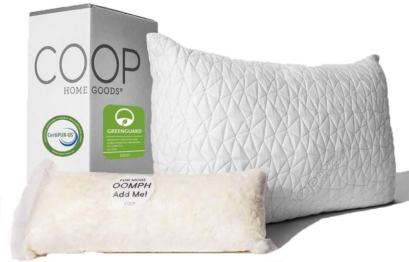 כרית ספוג זיכרון של חברת Coop Home Goods